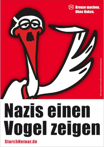 plakat-postkarte-vogel-zeigen